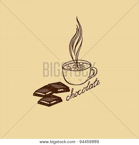 Card Hot Chocolate