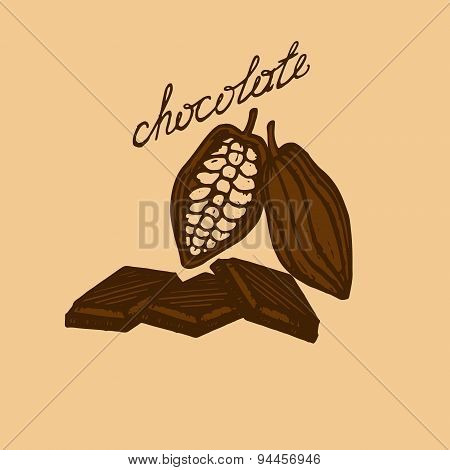 Logo Cocoa And Chocolate