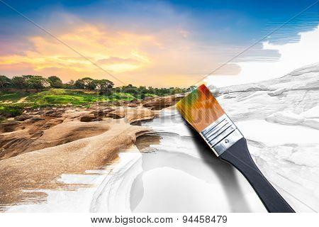 Painting Natural Image