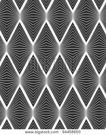 Flat Gray With Horizontal Onion Shapes