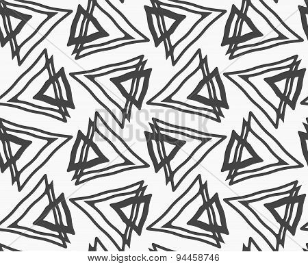 Flat Gray With Triangles