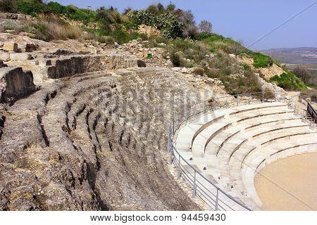 Roman Amphitheater, National Park Zippori, Galilee, Israel