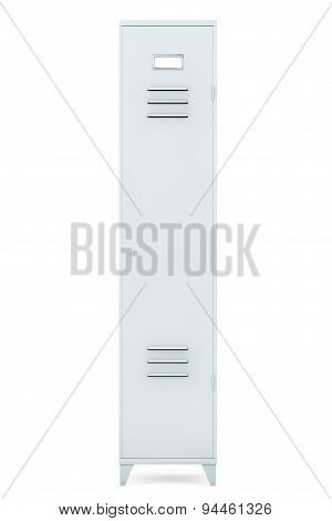 Grey Metal Locker