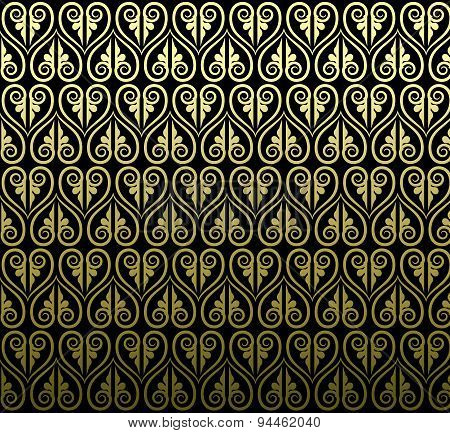 Thai Traditional Art Design. Thai Art Background, Thai Art Pattern