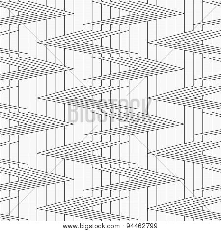 Gray Corners On Continues Lines