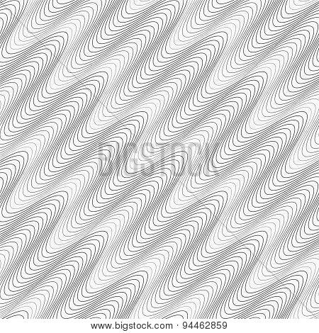 Gray Diagonal Wavy Texture