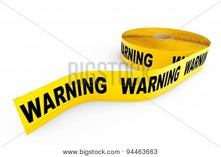 Warning Yellow Tape