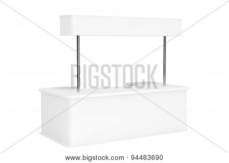 Blank Promotion Stand