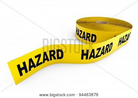 Hazard Yellow Tape