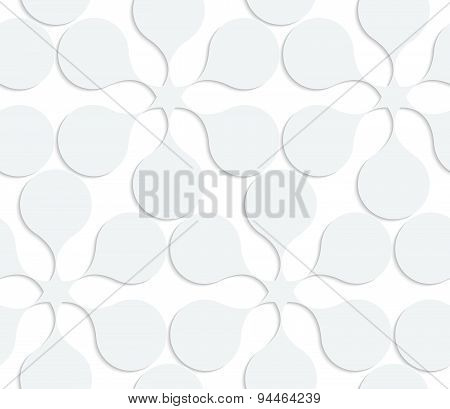 Paper White Solid Flowers