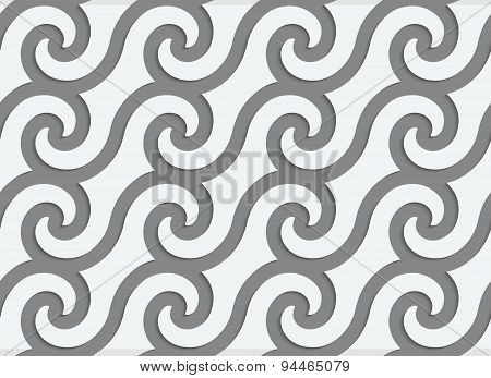 Perforated Spiral Waves