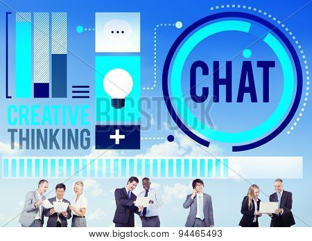 Chat Chatting Communication Connection Networking Concept