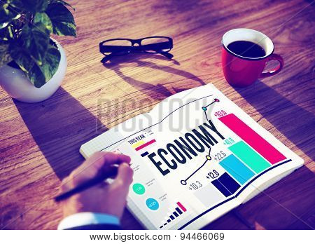 Economy Banking Finance Investment Money profit Concept