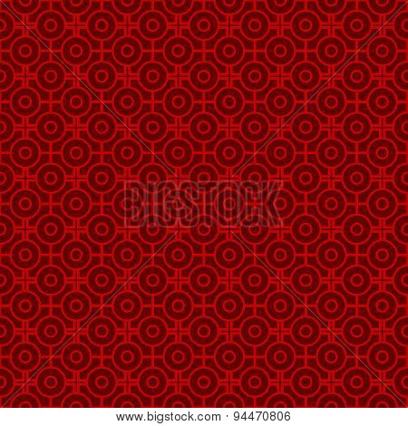 Seamless vintage Chinese window tracery round and square pattern background.Seamless vintage Chinese