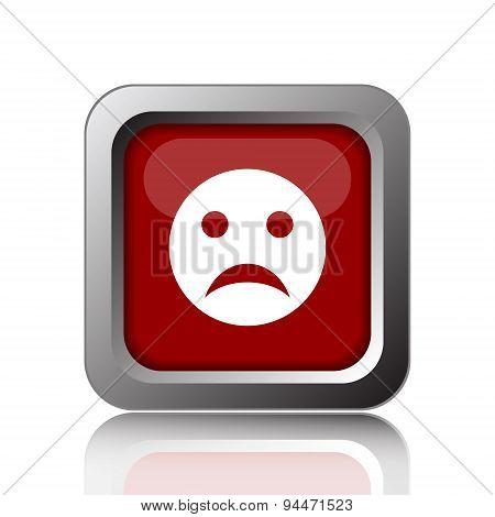 Sad Smile Icon