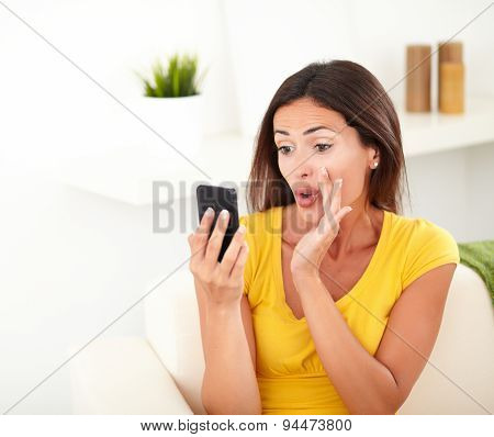 Young Woman Whispering A Secret While Chatting