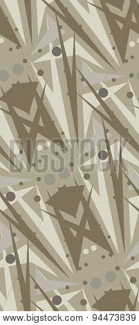 Brown Abstract Seamless Pattern