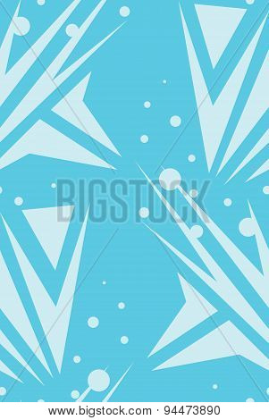 Abstract Seamless Blue Arrows Background