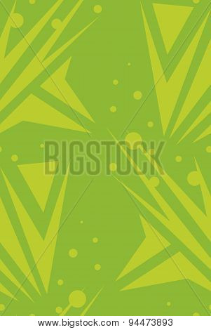 Green Seamless Arrows Background
