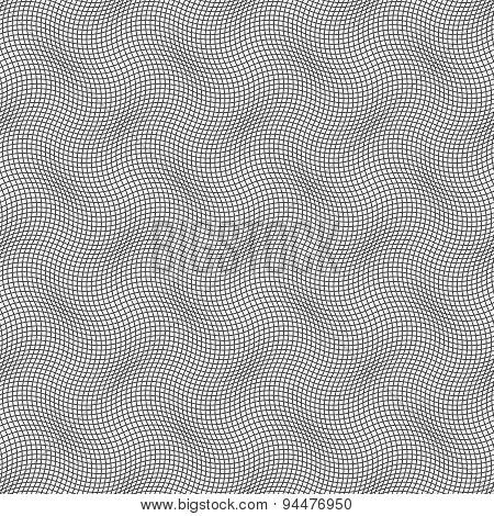 Slim Gray Wavy Checkered Texture