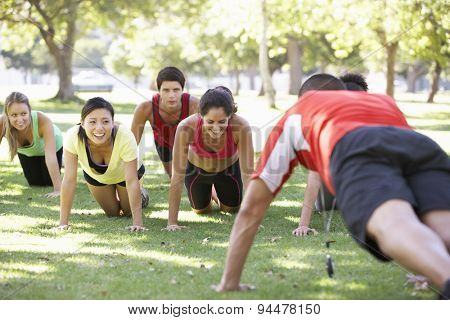 Instructor Running Fitness Boot Camp