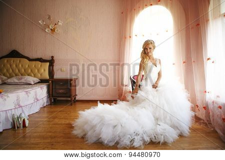 Bride On A Chair