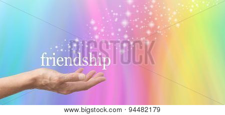 Friendship in the Palm of your Hand