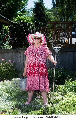 American Gothic Granny
