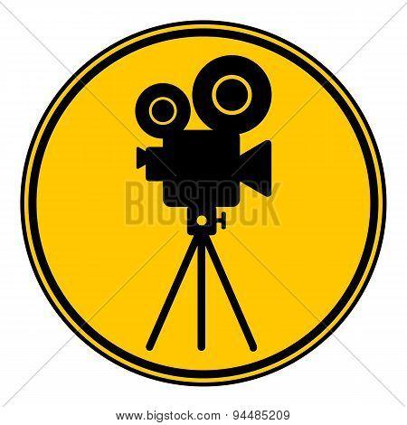 Video Camera Button.