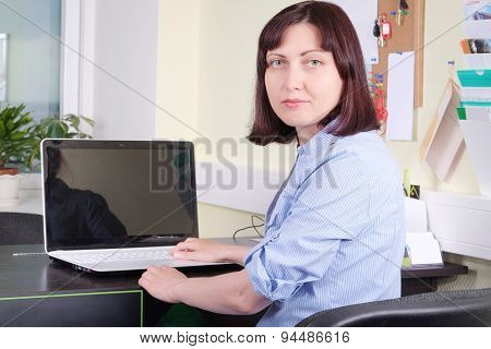 Portrait of a secretary