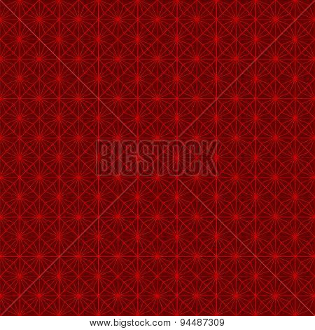 Seamless vintage Chinese window tracery round and square pattern background.