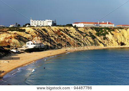 Atlantic Coast at sunset, Sagres, Portugal, Europe