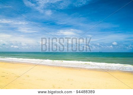 Remote Resort Shore Landscape