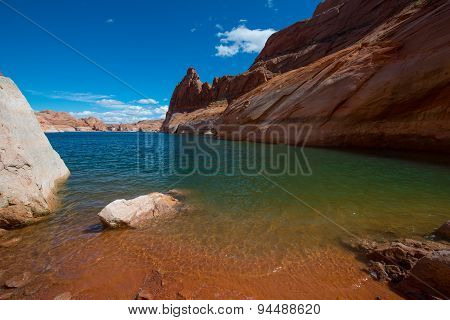 Hole In The Rock Beach Glen Canyon Utah