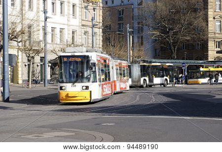 Mainz bus station
