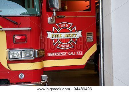 Seattle Fire Truck