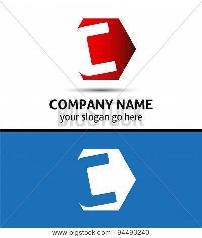 Vector elegant design alphabet symbol Letter C logo