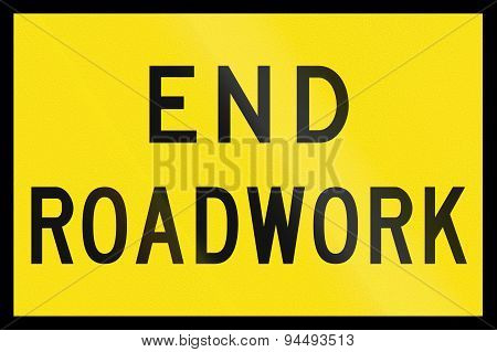 End Roadwork In Australia