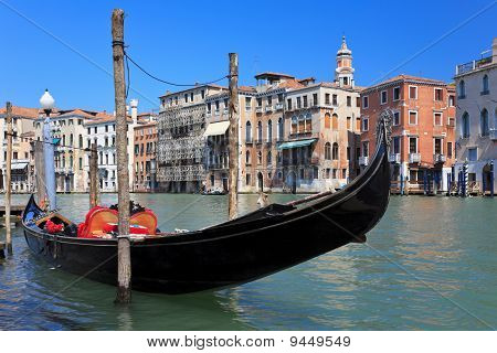 Traditional Venetian Gondola