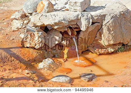 Stream With Mineral Water Seltzer