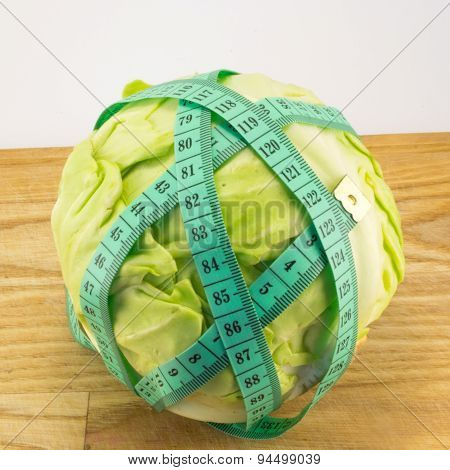Cabbage And Measuring