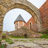 foto of chapels  - Chapel and walls on Medvedgrad castle in Zagreb - JPG