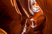 pic of antelope  - Inside the Upper Antelope Canyon  - JPG