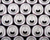 foto of stewardship  - A photo of several white aluminum cans - JPG