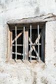 foto of greek-island  - Old window of Greek traditional house at Corfu island - JPG