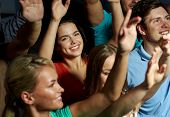 stock photo of waving hands  - party - JPG