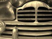 Постер, плакат: Деталь старого автомобиля