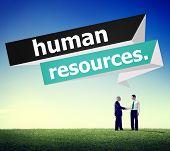 image of recruitment  - Human Resources Employment Job Recruitment Concept - JPG