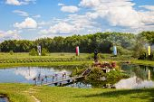 foto of chapels  - Chapel on the water in Radecznica Poland - JPG
