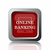 picture of internet-banking  - Online banking icon - JPG
